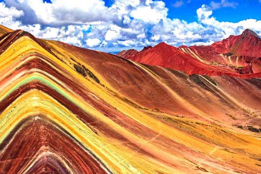 montaña arcoiris