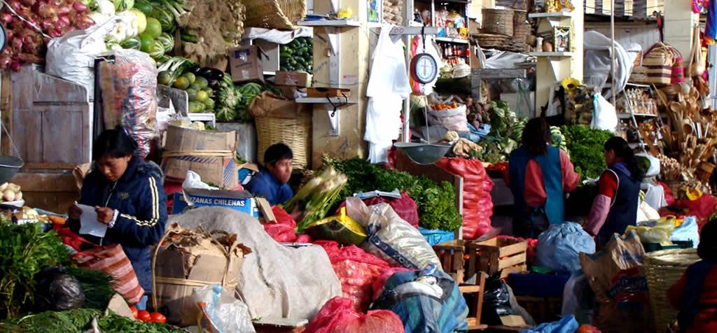 mercado san pedro cusco
