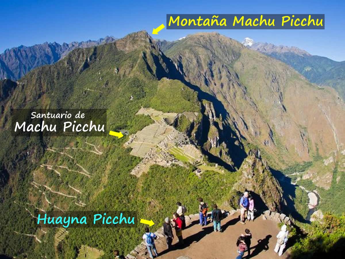 montaña machupicchu huayna picchu
