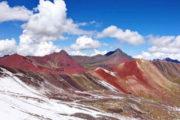 montaña colores en cusco