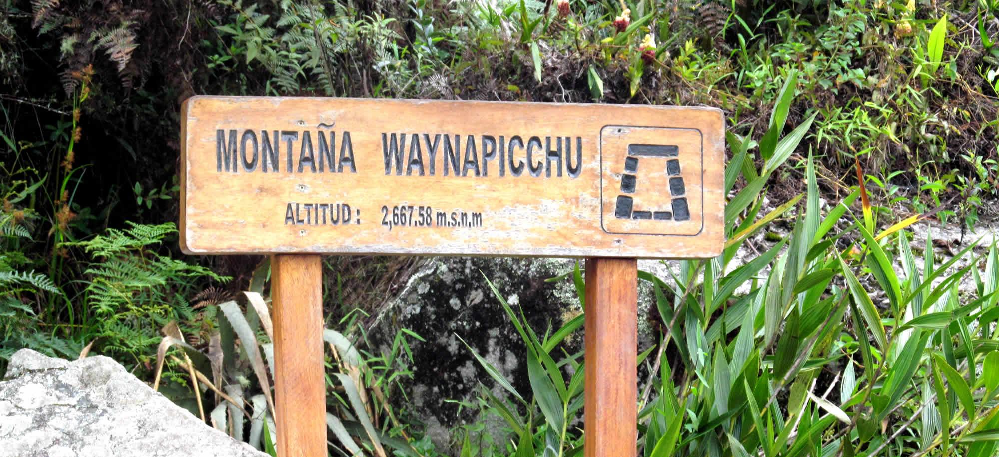 huayna picchu montaña