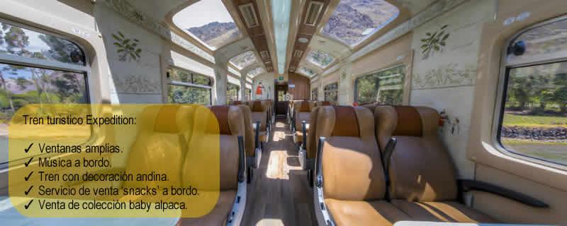 tren turistico expedition