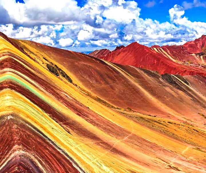 vinincunca montaña de colores
