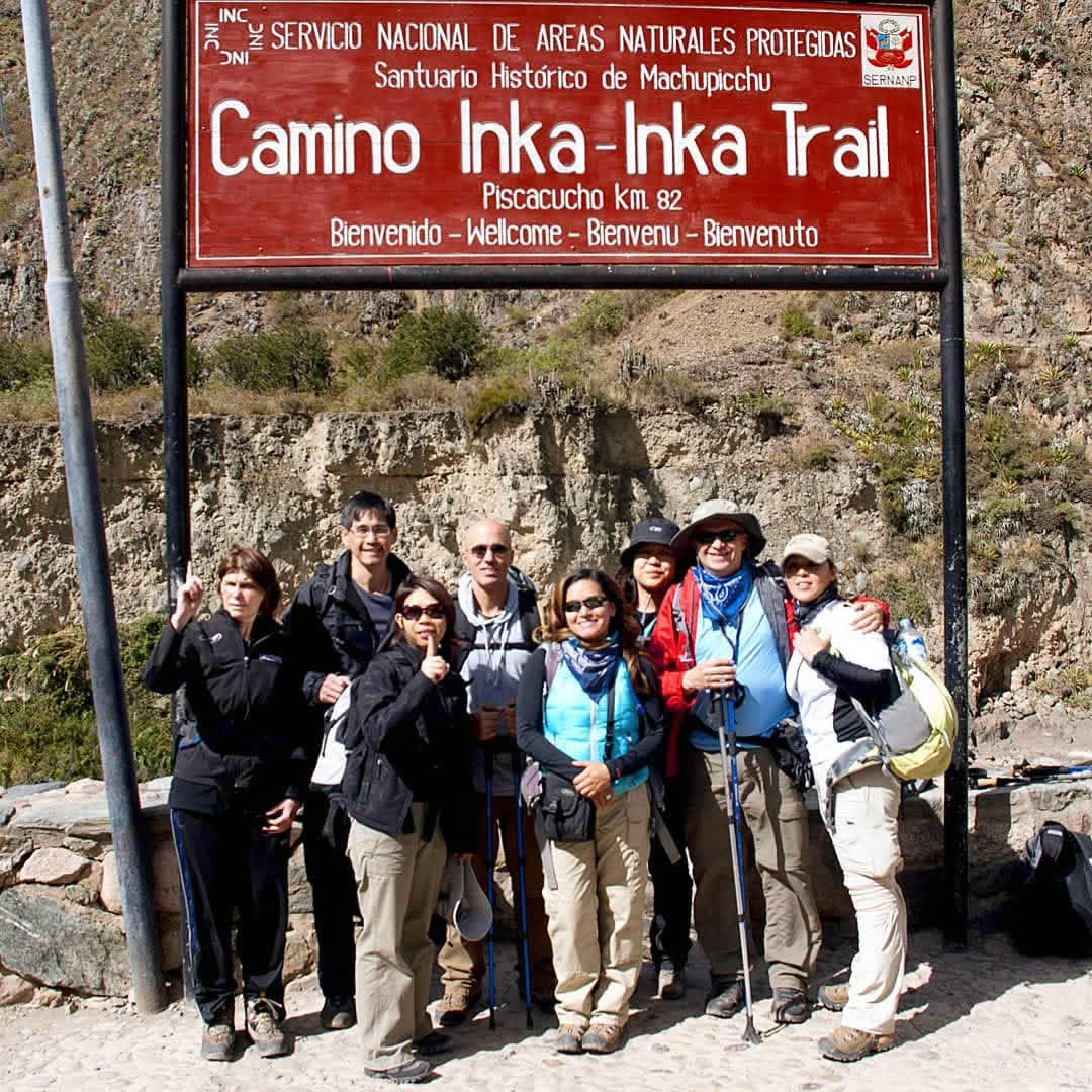 inca trail book