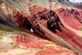 red valley and mountain 7 colors